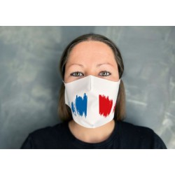 Masque de protection en tissu pré-imprimé