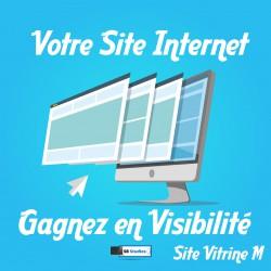 Réalisation site internet - site vitrine responsive M